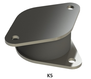 Machinery  Compression Mounts / K30-B53