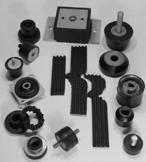 Fifteen styles of anti-vibration isolators available.