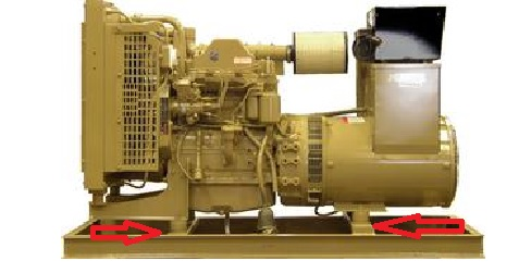 K73 Cylindrical Mount Genset Application